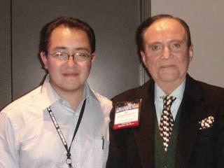 El Dr. Uriarte con el Dr. José Guerrerosantos